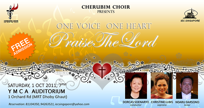 "Cherubim Choir: ""ONE VOICE, ONE HEART, PRAISE THE LORD!"""